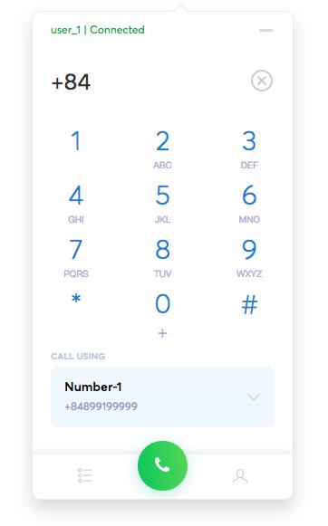 Stringee Web Phone
